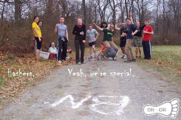 Yeah, we're special.